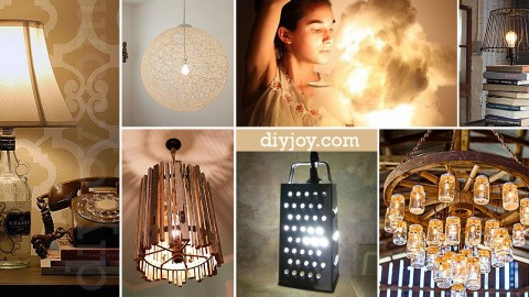 28 Dreamy DIY Lighting Projects You'll Adore | DIY Joy Projects and Crafts Ideas