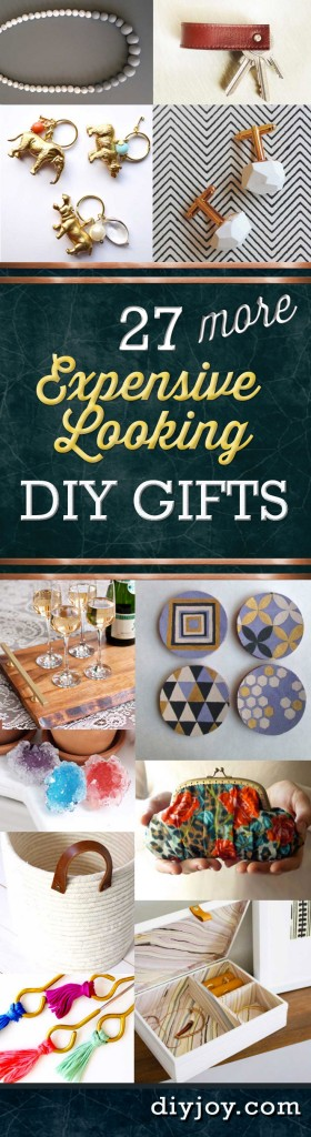 27 more expensive looking inexpensive gifts for Cheap diy presents