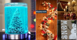 35 DIY Holiday Decor Ideas