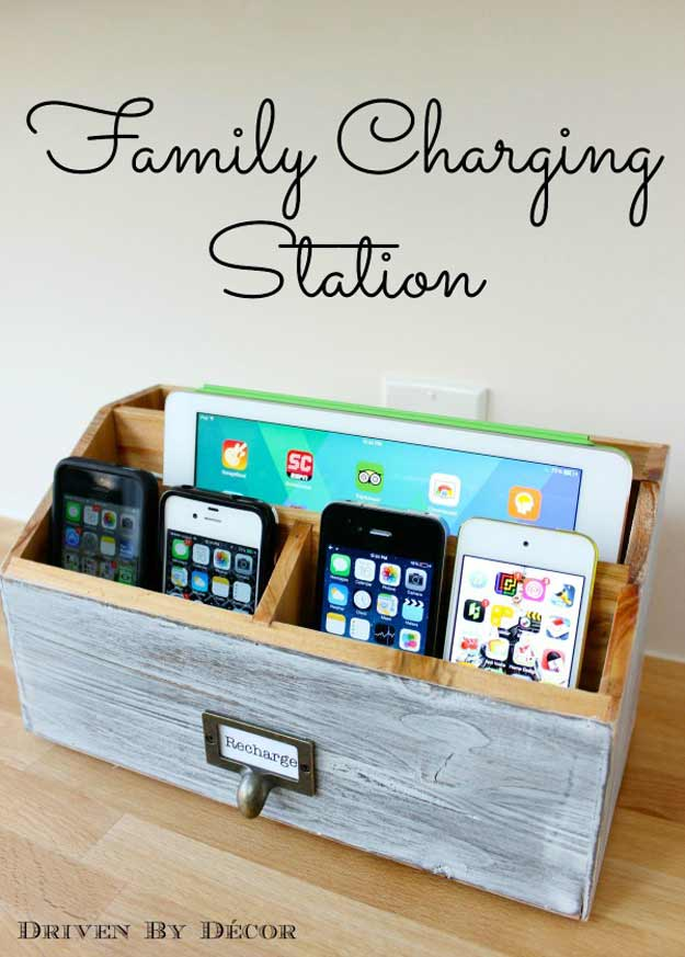 DIY Gifts for Your Parents | Cool and Easy Homemade Gift Ideas That Mom and Dad Will Love | Creative Christmas Gifts for Parents With Step by Step Instructions | Crafts and DIY Projects by DIY JOY | Charging-Station #diy #diygifts #christmasgifts