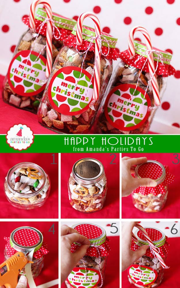 Homemade DIY Gifts in A Jar | Best Mason Jar Cookie Mixes and Recipes, Alcohol Mixers | Fun Gift Ideas for Men, Women, Teens, Kids, Teacher, Mom. Christmas, Holiday, Birthday and Easy Last Minute Gifts | Christmas Treats in a Jar #diy