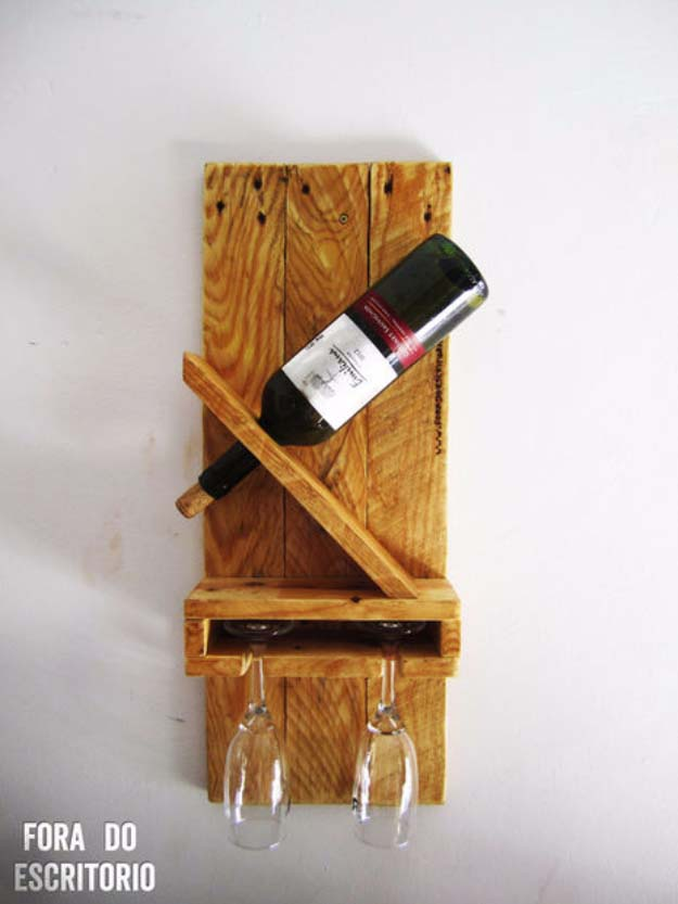 DIY Gifts for Your Parents   Cool and Easy Homemade Gift Ideas That Mom and Dad Will Love   Creative Christmas Gifts for Parents With Step by Step Instructions   Crafts and DIY Projects by DIY JOY   DIY Wine Rack Perfect for Mom and Dad  