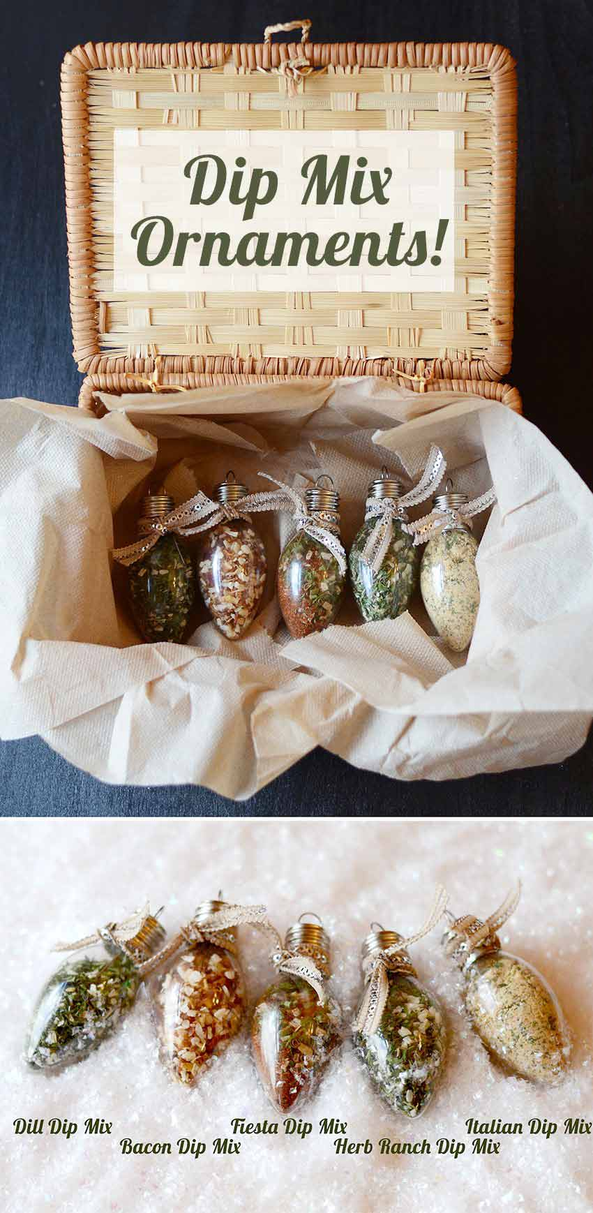 DIY Gifts for Your Parents | Cool and Easy Homemade Gift Ideas That Mom and Dad Will Love | Creative Christmas Gifts for Parents With Step by Step Instructions | Crafts and DIY Projects by DIY JOY | Dip-Mix-Ornaments #diy #diygifts #christmasgifts