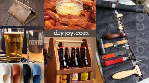 Cool DIY Crafts for Men (That Also Make Nice Gifts) | DIY Joy Projects and Crafts Ideas