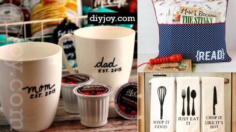 44 DIY Gift Ideas For Mom and Dad | DIY Joy Projects and Crafts Ideas