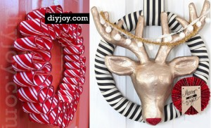26 DIY Holiday Wreaths To Make For Christmas Decor