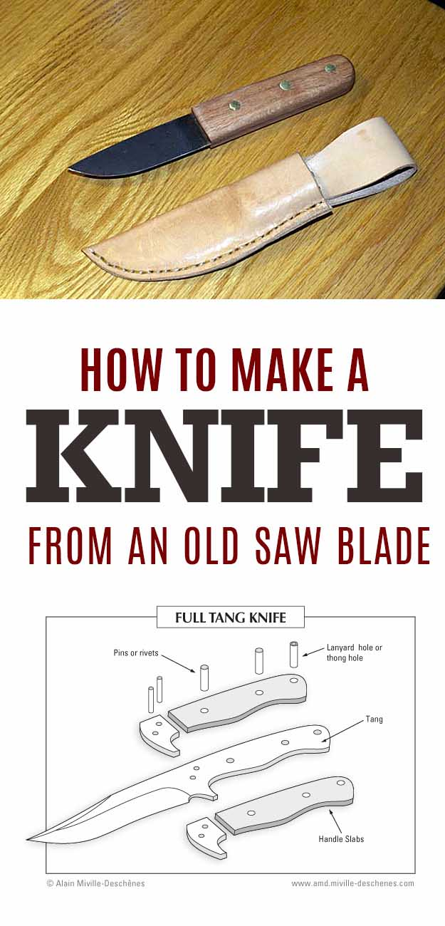 Creative Crafts for Men | Unique DIY Christmas Gifts for a Man | Easy DIY Projects Ito Make for Guys - Cool Handmade Gift Ideas for Boyfriends | Decor Ideas for Men | DYI Games and Gear. Tutorials for | How to Make a Knife from an Old Saw Blade