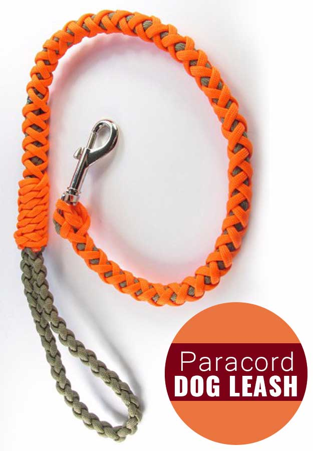 Awesome Crafts for Men and Manly DIY Project Ideas Guys Love - Fun Gifts, Manly Decor, Games and Gear. Tutorials for Creative Projects to Make This Weekend | Paracord Dog Leash #diy #craftsformen #guys #giftsformen