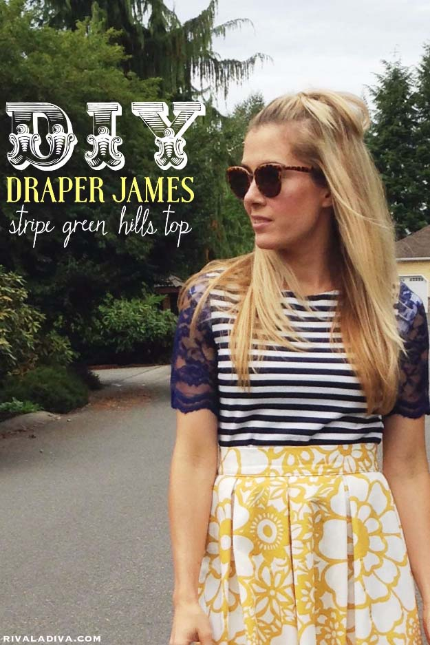 DIY Crafts You Can Make with Lace | Cool DIY Ideas for Fashion, Decor, Gifts, Jewelry and Home Accessories Made With Lace | Reese Witherspoon Inspired Draper James  | http://diyjoy.com/diy-crafts-ideas-with-lace