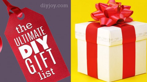The Ultimate DIY Christmas Gifts list | DIY Joy Projects and Crafts Ideas