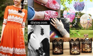 Elegant Crafts You Can Make with Lace