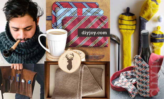 DIY Gifts For Men - Homemade Christmas Presents for Men and Holiday Gift Ideas for Guys