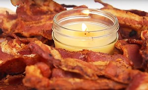 How to Make Bacon Candles