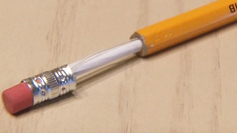 Make this ultra cool diy pretender pencil with hidden for Cool hidden compartments