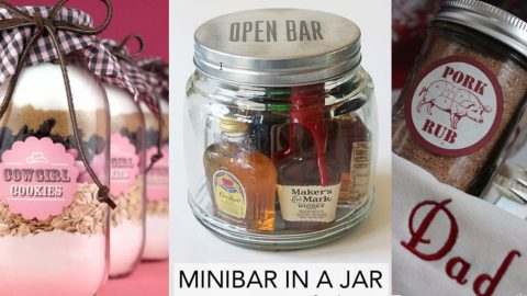 53 Gifts In A Jar | Mason Jar Gift Ideas | DIY Joy Projects and Crafts Ideas