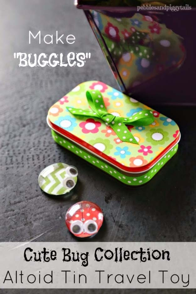 DIY Christmas Gifts for Kids - Homemade Christmas Presents for Children and Christmas Crafts for Kids   Toys, Dress Up Clothes, Dolls and Fun Games   Step by Step tutorials and instructions for cool gifts to make for boys and girls   Altoid Buggies