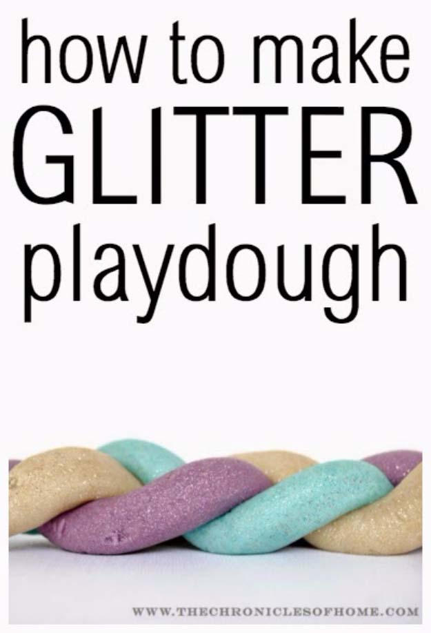 DIY Christmas Gifts for Kids - Homemade Christmas Presents for Children and Christmas Crafts for Kids   Toys, Dress Up Clothes, Dolls and Fun Games   Step by Step tutorials and instructions for cool gifts to make for boys and girls   DIY Glitter Play Dough