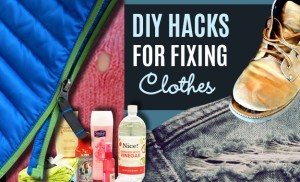 31 DIY Hacks for Stained and Ruined Clothes