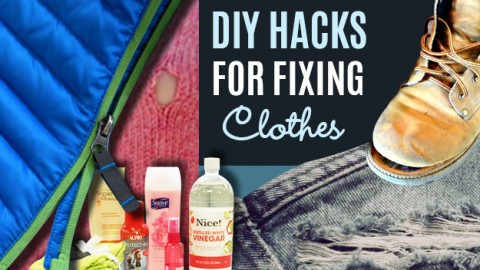 31 DIY Hacks for Stained and Ruined Clothes | DIY Joy Projects and Crafts Ideas