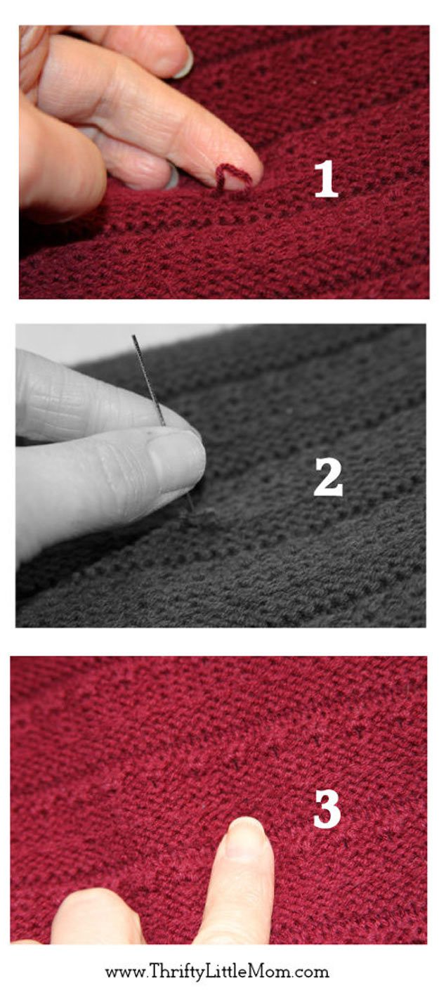 DIY Hacks for Ruined Clothes. Awesome Ideas, Tips and Tricks for Repairing Clothes and Removing Stains in Clothing   DIY Retailer Clothing Repair Secrets