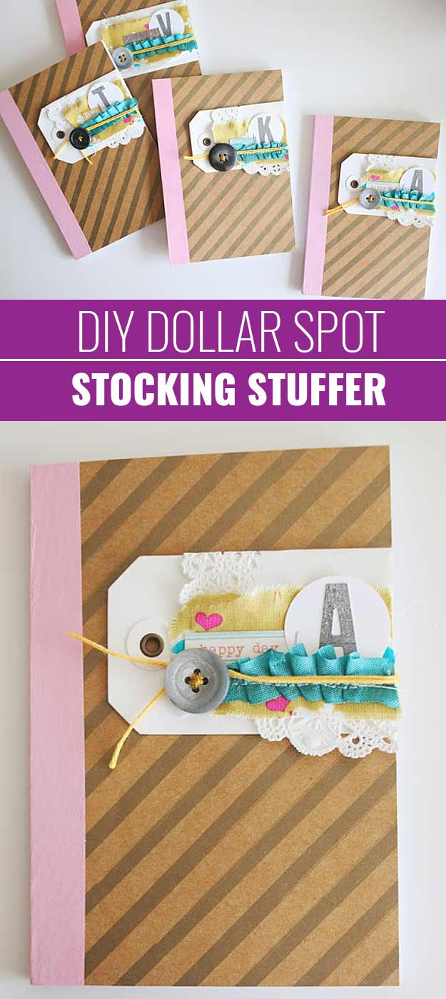 Fun Homemade Gifts for Friends | Cute DIY Stocking Stuffers for Christmas | Easy DIY Crafts Ideas | Dollar Spot Stocking Stuffer #diy #diychristmas