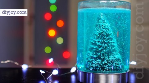 Easy Mason Jar Christmas Craft Idea