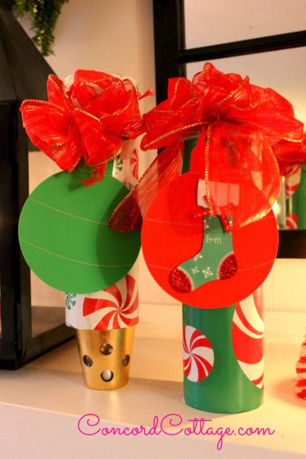 DIY Gift Wrapping Ideas - How To Wrap A Present - Tutorials, Cool Ideas and Instructions | Cute Gift Wrap Ideas for Christmas, Birthdays and Holidays | Tips for Bows and Creative Wrapping Papers | Gift Wrap Containers made from Pringles Cans #gifts #diys