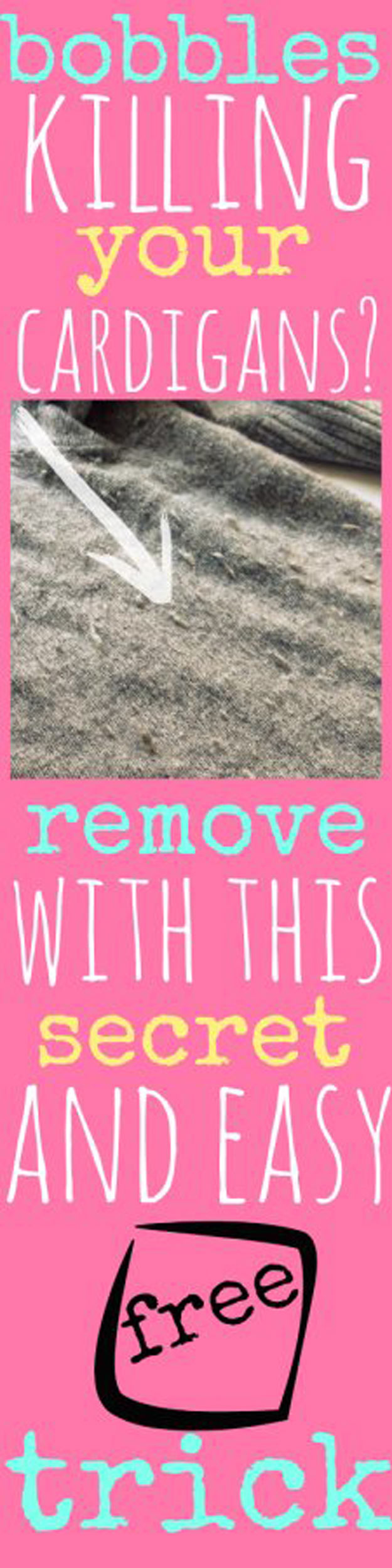 DIY Hacks for Ruined Clothes. Awesome Ideas, Tips and Tricks for Repairing Clothes and Removing Stains in Clothing   How to Remove Bobbles & Pilling from Clothes