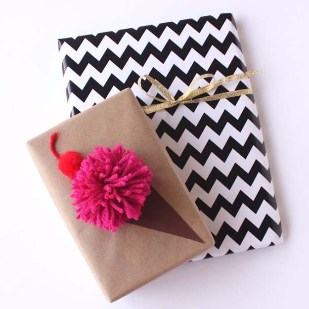 DIY Gift Wrapping Ideas - How To Wrap A Present - Tutorials, Cool Ideas and Instructions | Cute Gift Wrap Ideas for Christmas, Birthdays and Holidays | Tips for Bows and Creative Wrapping Papers | Ice Cream Cone Gift Wrap #gifts #diys