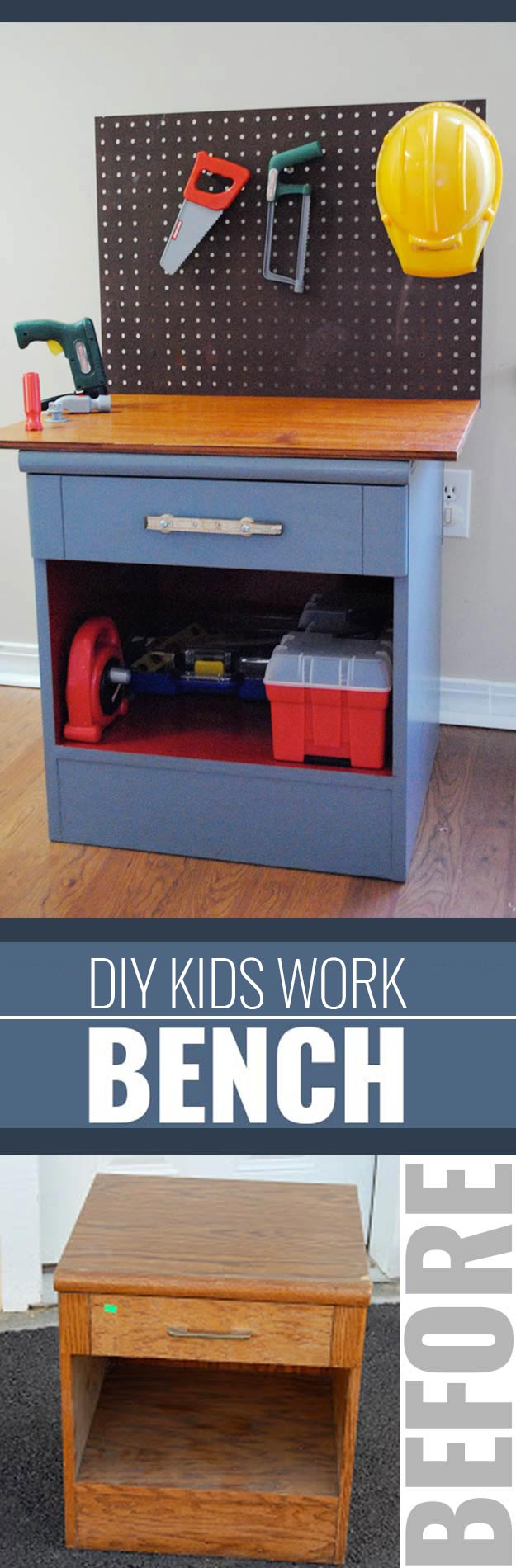 DIY Christmas Gifts for Kids - Homemade Christmas Presents for Children and Christmas Crafts for Kids   Toys, Dress Up Clothes, Dolls and Fun Games   Step by Step tutorials and instructions for cool gifts to make for boys and girls   Kiddie Workbench