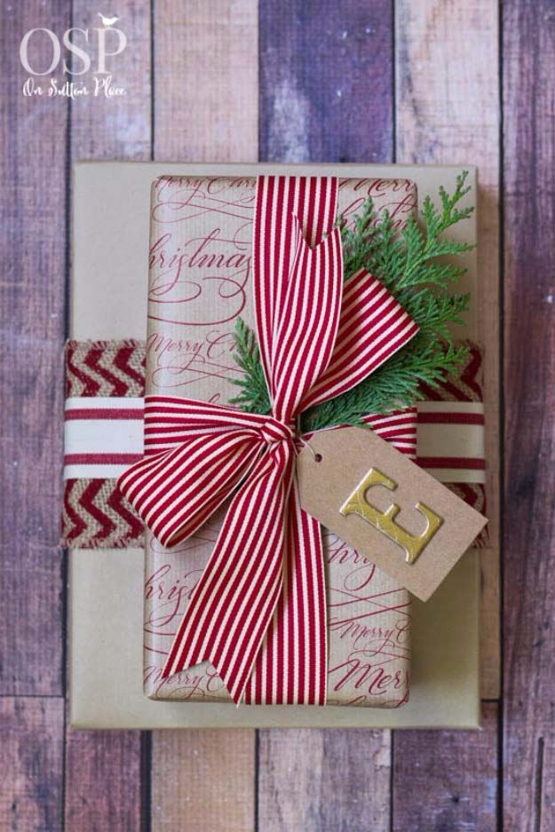 DIY Gift Wrapping Ideas - How To Wrap A Present - Tutorials, Cool Ideas and Instructions | Cute Gift Wrap Ideas for Christmas, Birthdays and Holidays | Tips for Bows and Creative Wrapping Papers | One Stop Christmas Gift Wrapping Ideas #gifts #diys