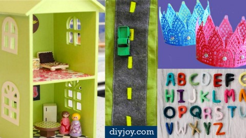 41 Fun DIY Gifts to Make For Kids (Perfect Homemade Christmas Presents!) | DIY Joy Projects and Crafts Ideas