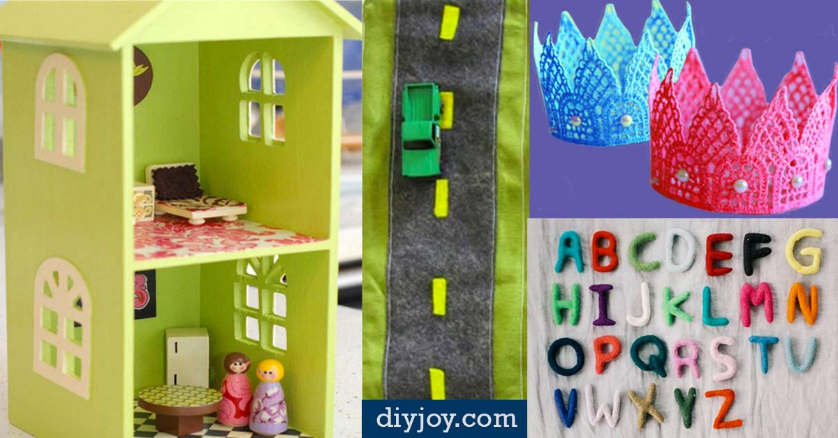 Cool Craft Ideas For Christmas Gifts Part - 23: 41 Fun DIY Gifts To Make For Kids (Perfect Homemade Christmas Presents!) -  DIY Joy