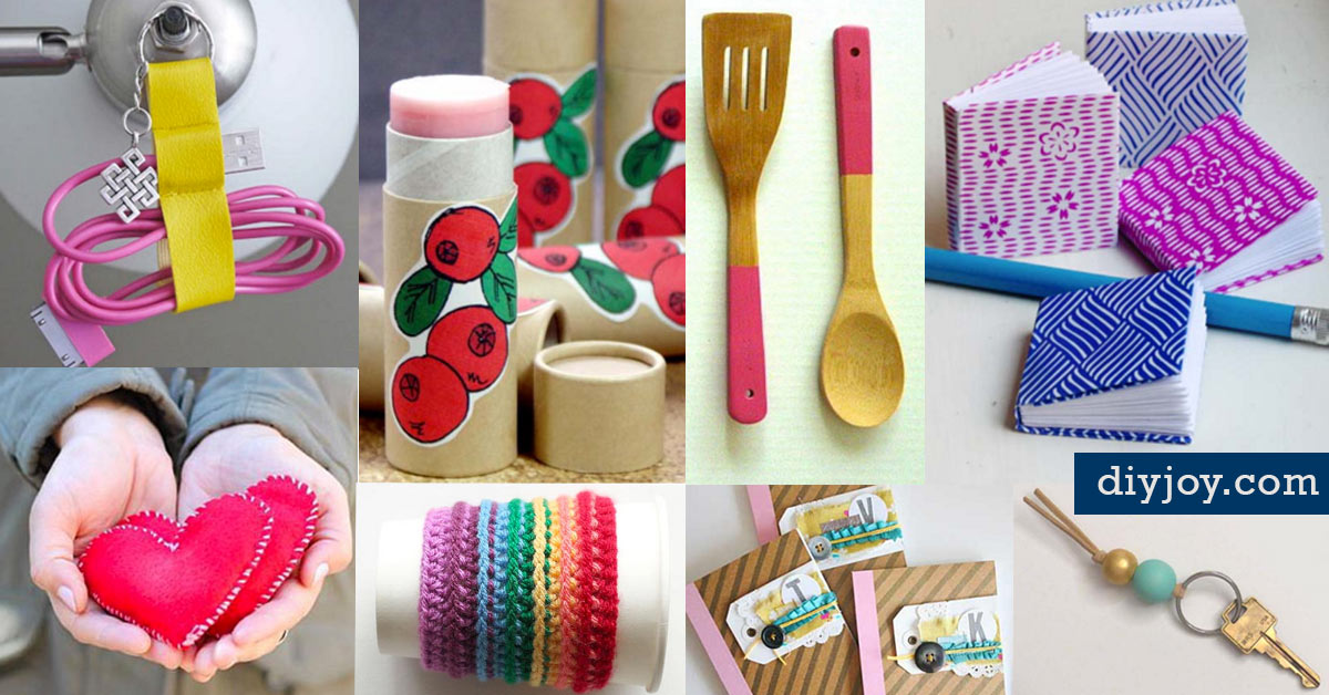 Nice 46 Tiny Homemade Gifts That Make The Cutest DIY Stocking Stuffer Ideas Ever! Great Pictures