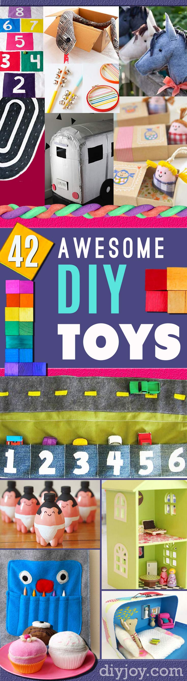 DIY Christmas Gifts for Kids - Homemade Christmas Presents for Children and Christmas Crafts for Kids | Toys, Dress Up Clothes, Dolls and Fun Games | Step by Step tutorials and instructions for cool gifts to make for boys and girls