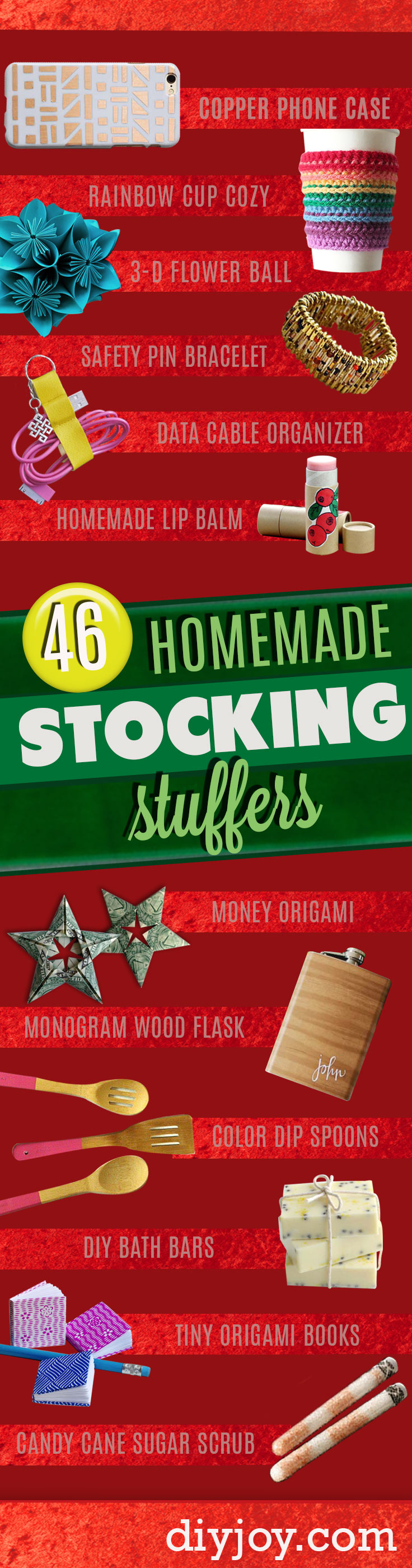 46 tiny homemade gifts that make the cutest diy stocking Unique stocking stuffers adults