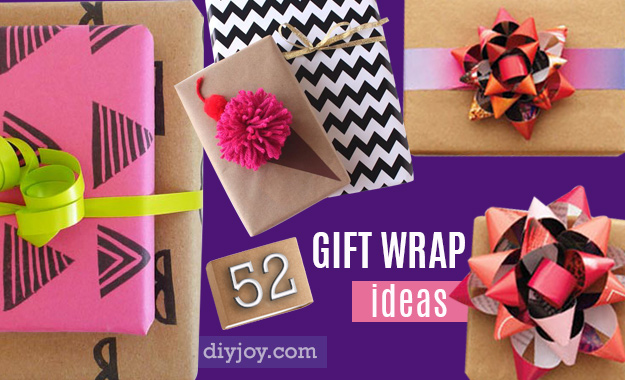 648c1b069e 52 Insanely Clever Gift Wrapping Ideas You'll Love!