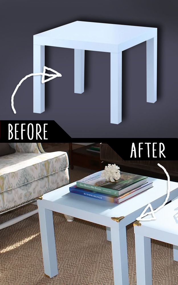 DIY Furniture Makeovers - Refurbished Furniture and Cool Painted Furniture Ideas for Thrift Store Furniture Makeover Projects   Coffee Tables, Dressers and Bedroom Decor, Kitchen   Campaign Style Side Tables #diy #furnituremakeover #diyfurniture