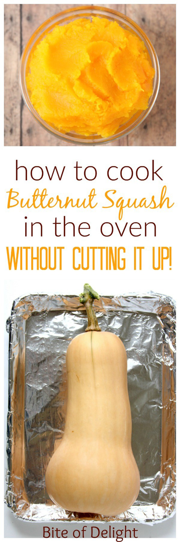 Coolest Cooking Hacks, Tips and Tricks for Easy Meal Prep, Recipe Shortcuts and Quick Ideas for Food |  Cook Butternut Squash Without Cutting It  | http://cooking-tips-diy-kitchen-hacks