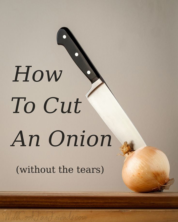 Coolest Cooking Hacks, Tips and Tricks for Easy Meal Prep, Recipe Shortcuts and Quick Ideas for Food | Cut An Onion Without Crying