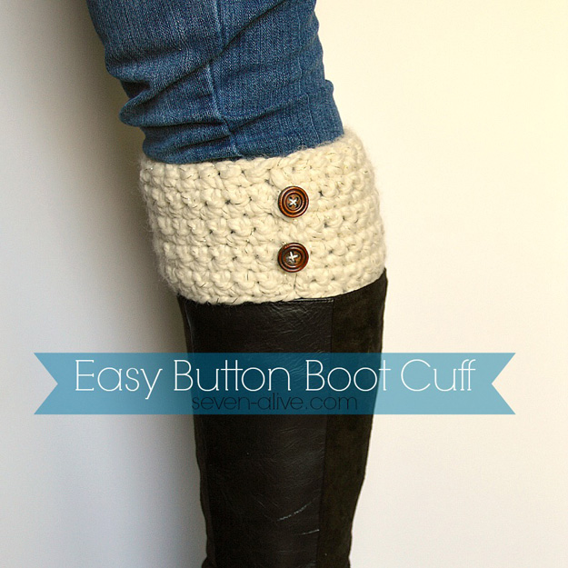 76 Crafts To Make and Sell - Easy DIY Ideas for Cheap Things To Sell on Etsy, Online and for Craft Fairs. Make Money with These Homemade Crafts for Teens, Kids, Christmas, Summer, Mother's Day Gifts. | DIY Crochet Boot Cuff | Clothes to Sell On Etsy