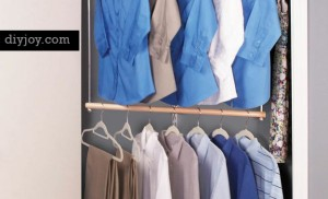 Organize Your Closet with More Hanging Space