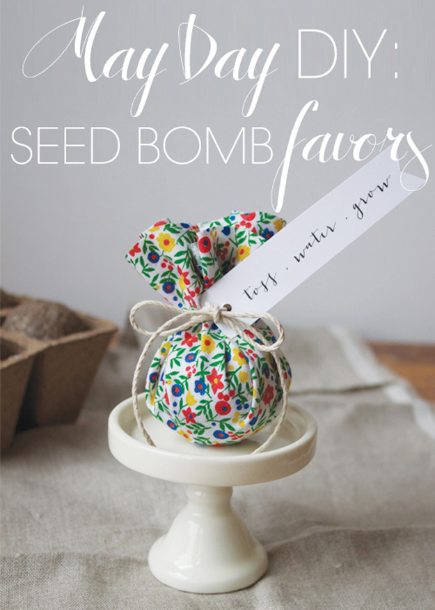 76 Crafts To Make and Sell - Easy DIY Ideas for Cheap Things To Sell on Etsy, Online and for Craft Fairs. Make Money with These Homemade Crafts for Teens, Kids, Christmas, Summer, Mother's Day Gifts. | DIY Seed Bombs | diyjoy.com/crafts-to-make-and-sell