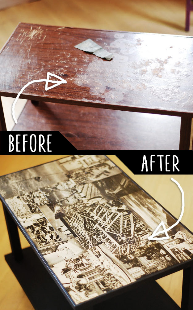 DIY FuDIY Furniture Makeovers - Refurbished Furniture and Cool Painted Furniture Ideas for Thrift Store Furniture Makeover Projects | Coffee Tables, Dressers and Bedroom Decor, Kitchen | Decoupaged TV Cart Makover #diy #furnituremakeover #diyfurniturerniture Makeovers - Refurbished Furniture and Cool Painted Furniture Ideas for Thrift Store Furniture Makeover Projects | Coffee Tables, Dressers and Bedroom Decor, Kitchen | Decoupaged TV Cart Makover