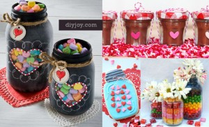 55 Mason Jar Valentine Gifts and Crafts