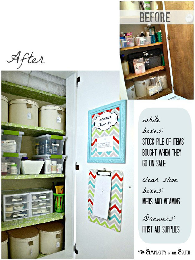 DIY Closet Organization Ideas for Messy Closets and Small Spaces. Organizing Hacks and Homemade Shelving And Storage Tips for Garage, Pantry, Bedroom., Clothes and Kitchen | Hall Closet Organization #organizing #closets #organizingideas