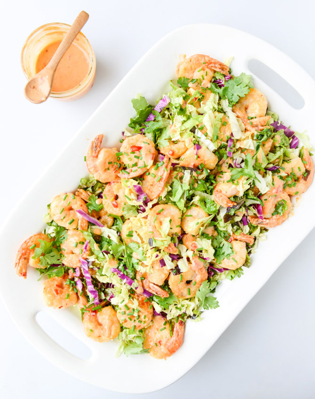 Copycat Recipes From Top Restaurants. Best Recipe Knockoffs from Chipotle, Starbucks, Olive Garden, Cinabbon, Cracker Barrel, Taco Bell, Cheesecake Factory, KFC, Mc Donalds, Red Lobster, Panda Express | Lightened-Up Bonefish Grill's Bang Bang Shrimp | #recipes #copycatrecipes
