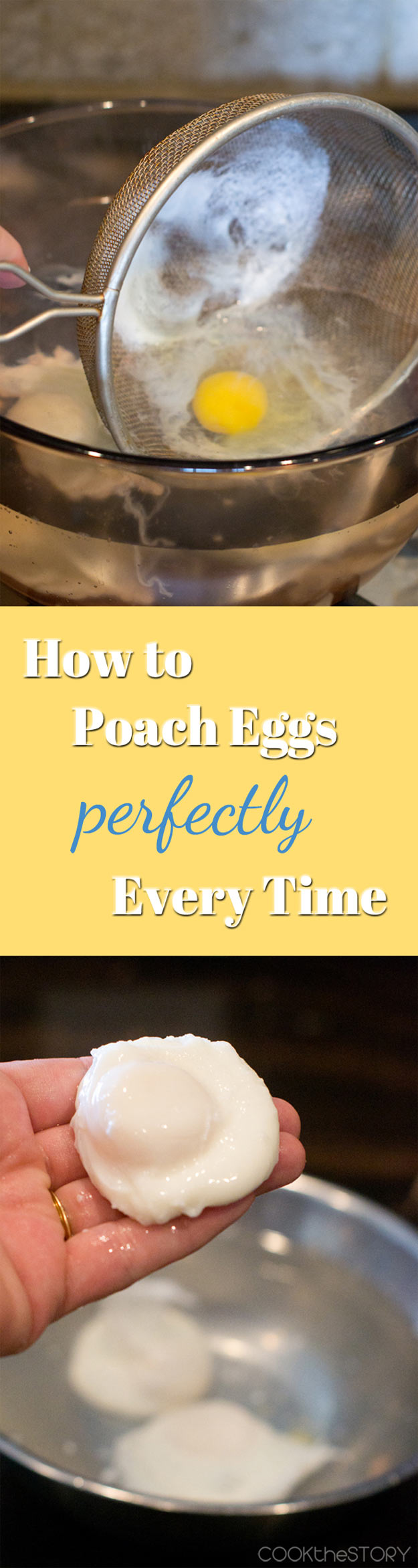 Coolest Cooking Hacks, Tips and Tricks for Easy Meal Prep, Recipe Shortcuts and Quick Ideas for Food | Poach Eggs Perfectly Every Time | http://cooking-tips-diy-kitchen-hacks
