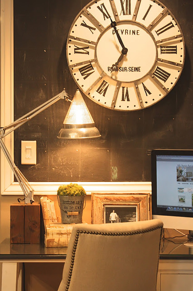 DIY Furniture Store KnockOffs - Do It Yourself Furniture Projects Inspired by Pottery Barn, Restoration Hardware, West Elm. Tutorials and Step by Step Instructions | Restoration Hardware French Tower Clock Knockoff #diyfurniture #diyhomedecor #copycats