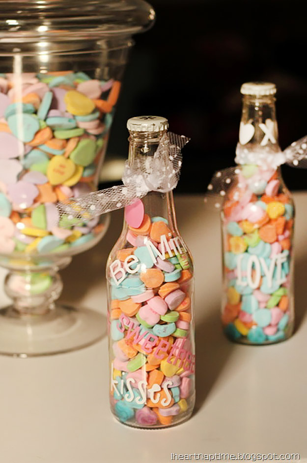 Mason Jar Valentine Gifts and Crafts   DIY Ideas for Valentines Day for Cute Gift Giving and Decor   Sweetheart Soda Pop   #valentines